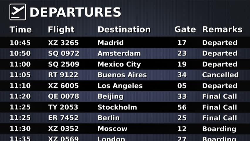 billets d'avion à la dernière minute